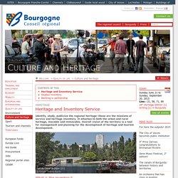Service patrimoine et inventaire- Conseil régional