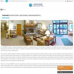 WINHMS - Inventory Management System