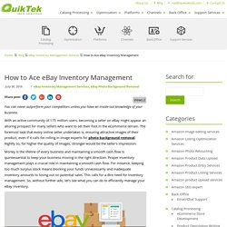 How to Ace eBay Inventory Management