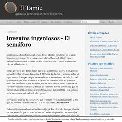 Inventos ingeniosos - El semáforo