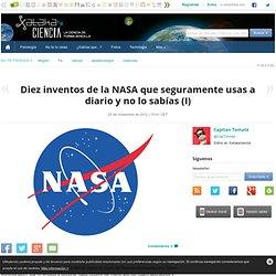 Diez inventos de la NASA que usas a diario I