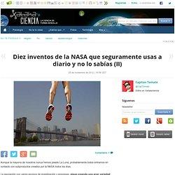 Diez inventos de la NASA que usas a diario II