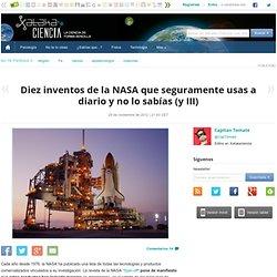 Diez inventos de la NASA que usas a diario III