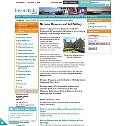 Inverclyde Council • McLean Museum and Art Gallery
