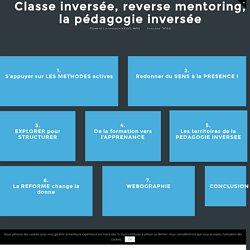 Classe inversée, reverse mentoring, la pédagogie inversée