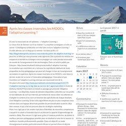 Après les classes inversées, les MOOCs, l'adaptive Learning ? – Veille et Analyse TICE