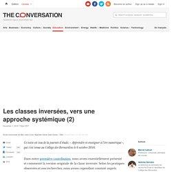 Les classes inversées, vers une approche systémique (2)