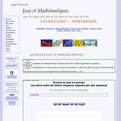 Onlineambigramorinversiongeneratorandambigrambookmarks