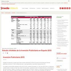 Estudio InfoAdex de la Inversión Publicitaria en España 2015
