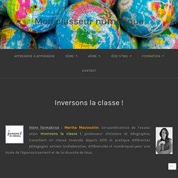 Inversons la classe ! – Mon classeur numérique