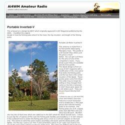 Inverted-V - AI4WM Amateur Radio