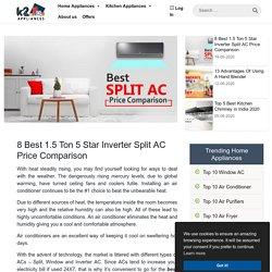8 Best 1.5 Ton 5 Star Inverter Split AC Price Comparison