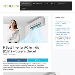 9 Best Inverter AC in India (2021) - Buyer's Guide! - bestobest