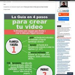 4 Pasos para Crear un Video para una Clase Invertida