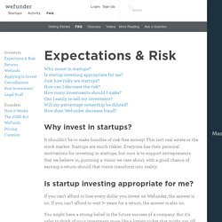 Invest in Startups You Love - Wefunder