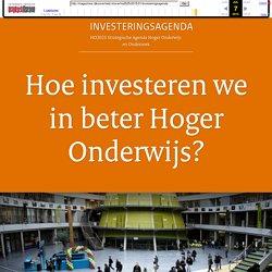 Hoe investeren we in beter Hoger Onderwijs?