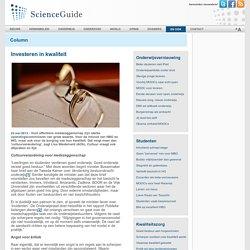 ScienceGuide: Investeren in kwaliteit