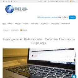 Investigación en Redes Sociales ▷ Detectives expertos en Internet.