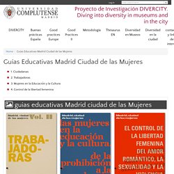 Proyecto de Investigación DIVERCITY. Diving into diversity in museums and in the city