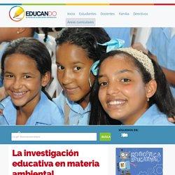 La investigación educativa en materia ambiental