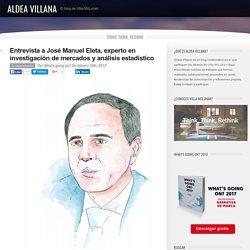 Entrevista a José Manuel Eleta, experto en investigación de mercados y análisis estadístico