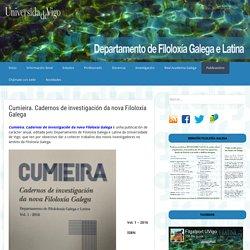 Cumieira. Cadernos de investigación da nova Filoloxía Galega