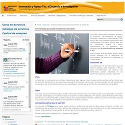 Innovación y Apoyo Téc. a Docencia e Investigación » 4 herramientas que pueden transformar la educación