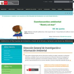 Dirección General de Investigación e Información Ambiental