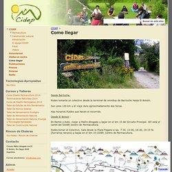 Como llegar - CIDEP - Centro de Investigación, Desarrollo y Enseñanza de Permacultura