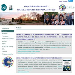 Grupo de Investigación sobre Políticas Educativas Supranacionales