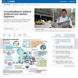 Investigación de TGI Net sobre medios impresos - Novedades tecnología