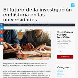 El futuro de la investigación en historia en las universidades