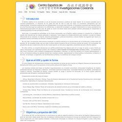 CEIC - Centro Español de Investigaciones Coreanas