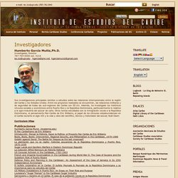 Instituto de Estudios del Caribe / Institute of Caribbean Studies