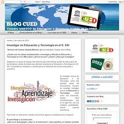 Investigar en Educación y Tecnología en el S. XXI