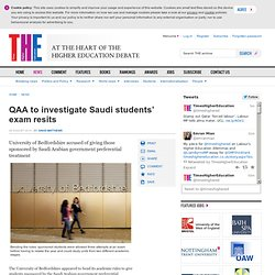 QAA to investigate Saudi students' exam resits