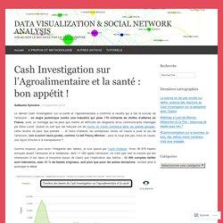 BLOG CARTOZERO 15/09/16 Cash Investigation sur l'Agroalimentaire et la santé : bon appétit !