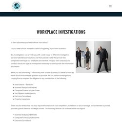 Find Workplace Investigation Consultant In USA