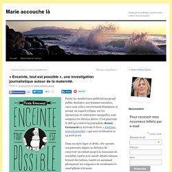 « Enceinte, tout est possible », une investigation journalistique autour de la maternité.
