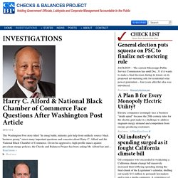 INVESTIGATIONS Archives - Checks and Balances Project