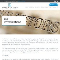 Tax Investigation Specialists