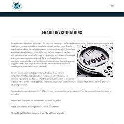 Fraud Surveillance Investigations