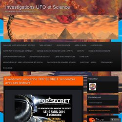 Investigations UFO et Science