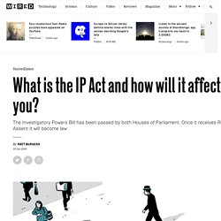 Investigatory Powers Bill: what is it and how will it affect you?