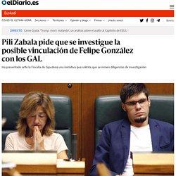 Pili Zabala pide que se investigue la posible vinculación de Felipe González con los GAL