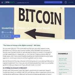 Investing in Bitcoin: A Complete Guide