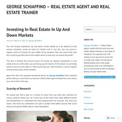 George Schiaffino – Real Estate Agent and Real Estate Trainer