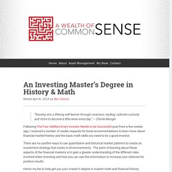 An Investing Master's Degree in History & Math