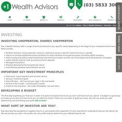 Investing Shepparton, Shares Shepparton, Victoria, Australia