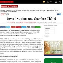Investir… dans une chambre d'hôtel
